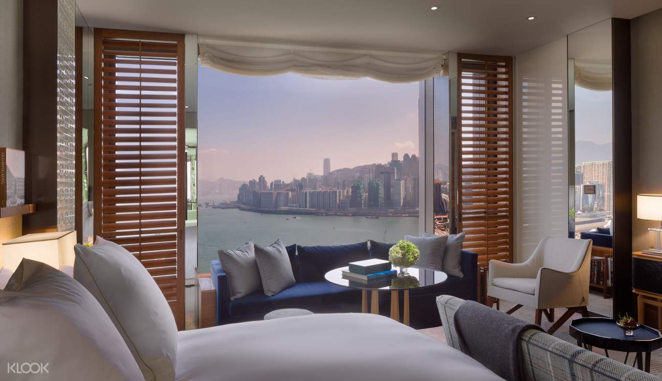 room with harbour view